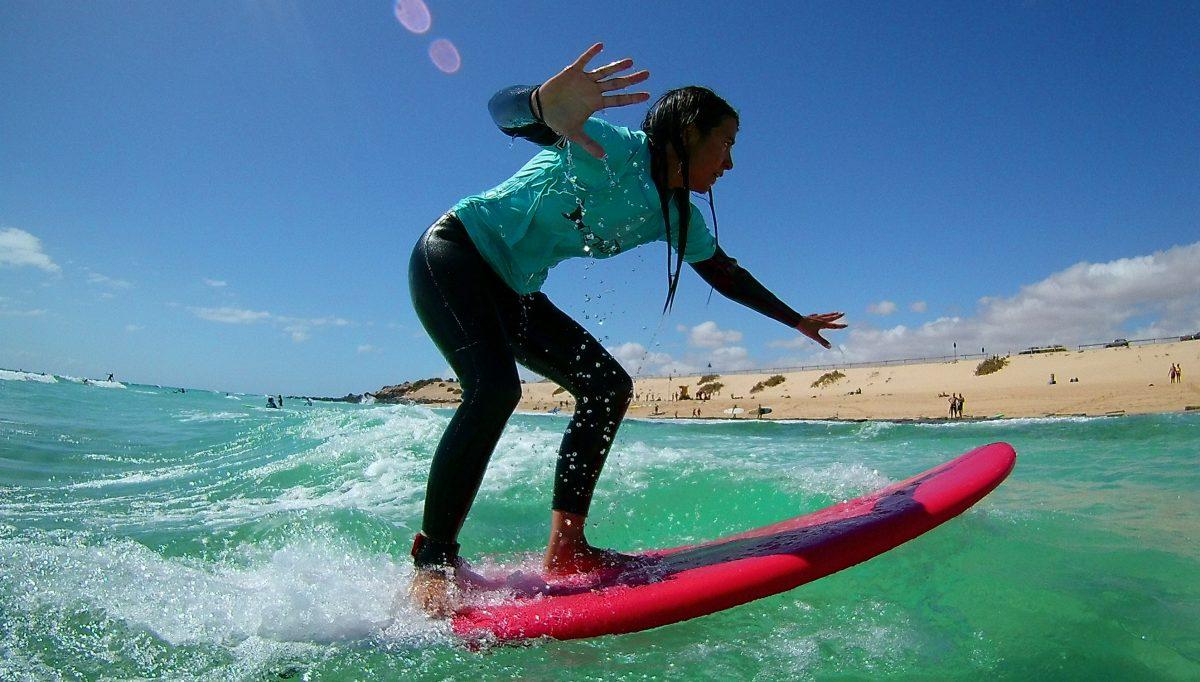 LEARN SURFING & KITESURFING IN PARADISE FUERTEVENTURA