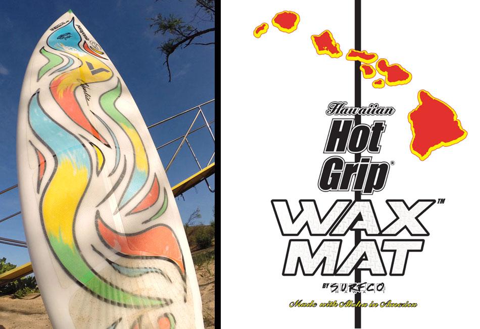 TEST: Surf Pad Hot Grip Wax MatSurfCo Hawaii – Surf Smart