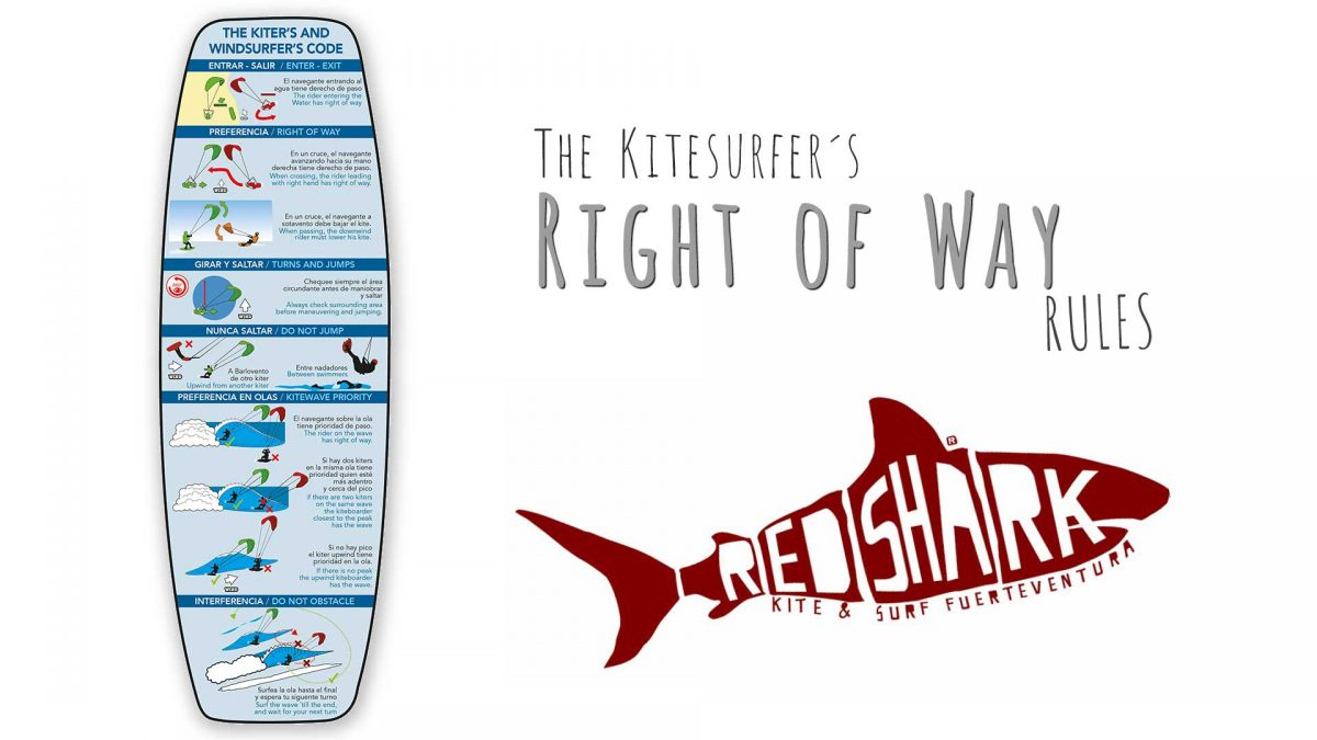 KITESURF RIGHT OF WAY RULES EXPLAINED REDSHARK