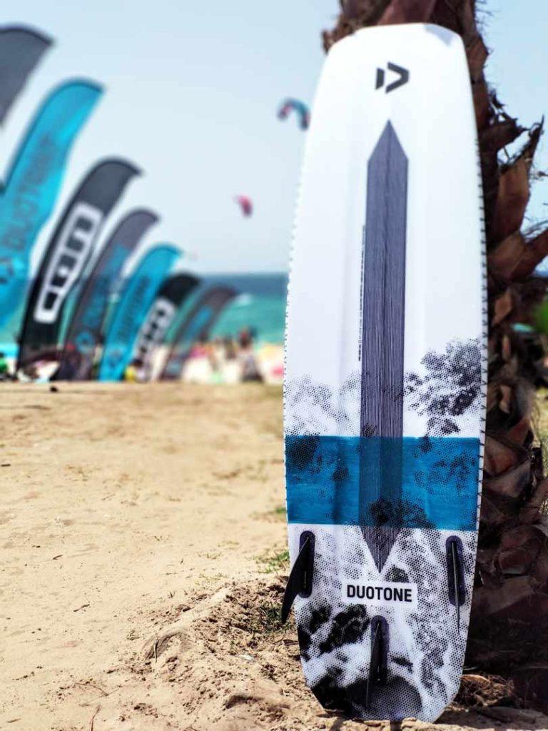 Duotone Kiteboarding in Fuerteventura - Redshark pro voke